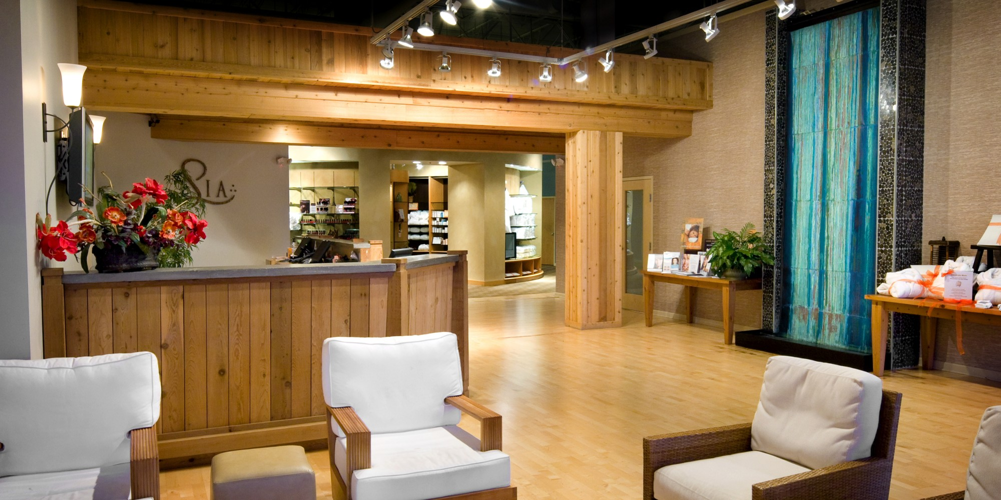 Commercial Spa Interior Design