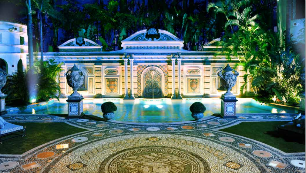 Versace hotel luxury in your home for Versace pool design